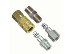 Plews/Edelmann 13-203 1/4-Inch I/M Air Coupler and Plug Kit - 4 Piece