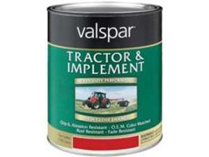 1 Qt New Holland Red Tractor & Implement Paint VALSPAR Brush On-Rust Inhibitive
