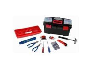 Toolbasix 10557 Tool Set with Tool Box Home Repair- 22 Piece
