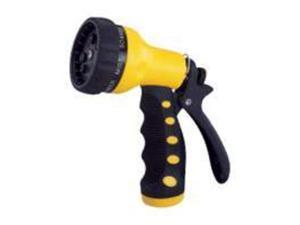 Plast Nozzle Insul 9Pattern Toolbasix Hose Nozzles GN434513L Yellow/Black