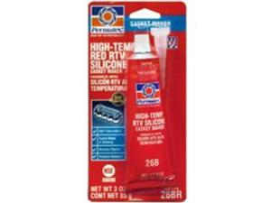 Permatex High-Temp Red RTV Silicone Gasket  81160