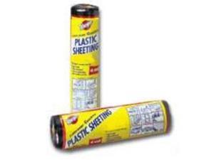 10X25Ft 3Mil Black Poly Film WARP BROTHERS Polyethylene Film - Consumer