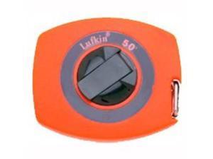 Cooper Hand Tools Lufkin 182-50 45068 3-8 Inchx50'Yellow Clad Steel Tape Enclosed B