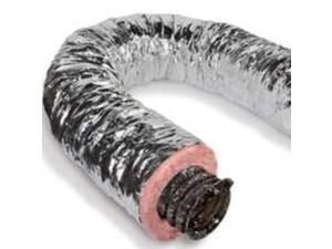 Pp Duct Air 8In 25Ft 2Ply LL BUILDING PRODUCTS Duct Pipe F6IFD8X300 050206922446