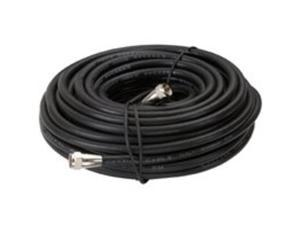 Cbl Coaxial 50Ft Blk PVC Rg6 AMERICAN TACK TV Wire and Cable VG105006B Black PVC