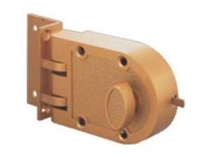 Toolbasix 6296404-3L JimmyProof Single-Cylinder Lock Vertical Bolt - Single Cyli
