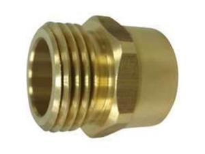 "3/4"" X 3/4"" Brass Hose Adapter Mintcraft Hose Repair and Parts PMB-468-3L"