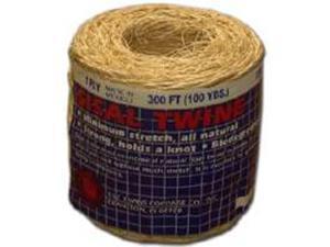 Twine 300Ft Tb Sisal 2-Ply TW EVANS CORDAGE CO Twine 15-209 Sisal 035283152092