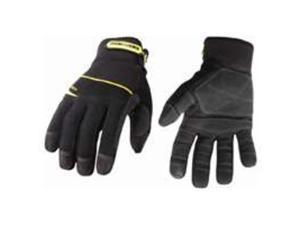 Youngstown Glove 03-3060-80-M General Utility Plus Gloves, Black - Medium