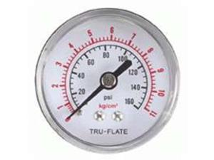 Plews/Edelmann 24-801 1/8-Inch Airline Pressure Gauge - Each