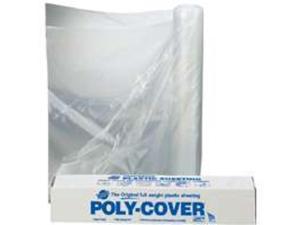 Polyfilm 4Mil 8Ft 50Ft Plstc WARP BROTHERS Polyethylene Film - Consumer 4LX8C