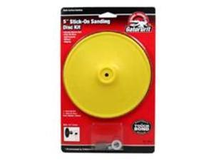 Pad Backing 5In 3000Rpm 1/4In ALI INDUSTRIES Disc Sanding Kits 3050 082354030506
