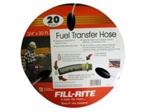 "FRH07520 Fill-Rite 3/4"" x 20 Ft Fuel Tank Transfer Pump Hose"