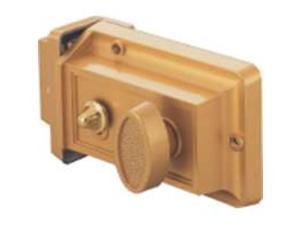 Toolbasix 6296453-3L Rim Night Latch Solid Brass Surface Mount - Each