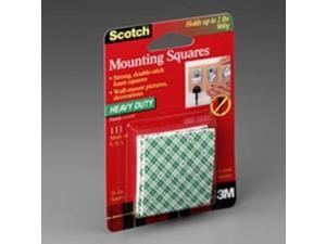 """New 3M Scotch 311DC Heavy Duty 1"""" Mounting 48 Squares"""