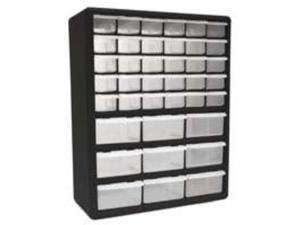 Homak Mfg. HA01039001 39-Drawer Plastic Parts Organizer