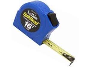 Cooper Hand Tools Lufkin 182-QR1316 3-4 Inchx 16' Quickread Tapemeasure
