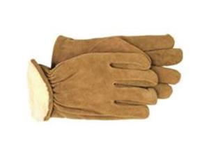 Boss Glove Pile Lined Split Leather Md