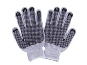 Cotton Knit Glove Whte w/Dots DIAMONDBACK Gloves - Cloth FO809PVD2 045734962835