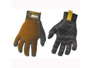 Youngstown Glove Co. 06-3040-70-L Dexterous Tradesman Glove Synthetic Suede Trad