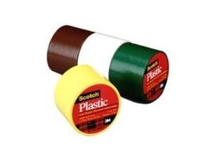 3m 6 Count 1-.50in. X 125in. Scotch Red Plastic Tape  191RD - Pack of 6