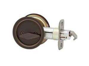Lck Dr Orb 2-3/8In 1X2-1/4In KWIKSET Locks / Latches 33510BROUNDPOCKET