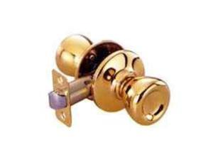 Toolbasix 5764PB-PS-BP Tulip Passage Lockset Polished Brass -Box Tulip - Each