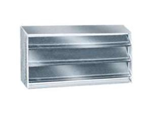 Ll Building Products BVSII 16-In. X 8-In. Foundation Ventilator with Louvers