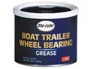 Grse Brg 14Oz Can Semi-Sol Blu CRC INDUSTRIES Grease SL3121 Blue 072213312102