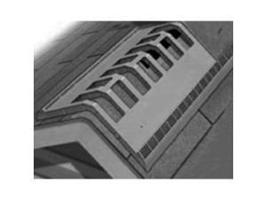 Vent Ridge 4Ft Canplas ONE EACH CANPLAS INC Ridge Vents 6072METBL Black