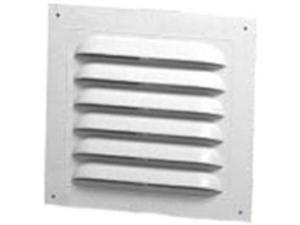 Vnt Gable 8In 12In Polyp Rect Canplas Inc Gable Vents 620812 White Polypropylene