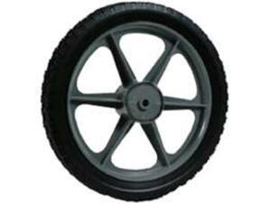 14X1.75 Plastic Spoked Wheel Arnold Corp Mower Wheels 1475-P Black  037049930777