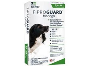 Flea and Tick Dogs 23-44Lbs Fip Sergeant'S Pe Flea & Tick Control/Repellants
