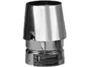 Cap Pp Stv 3In 5-3/4In Galv SELKIRK INC Pellet Pipe Fittings 243803 Galvanized