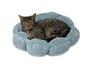 Puffy Round Cat Bed Doskocil Manufacturing Pet Beds, Mats & Pillows 27459
