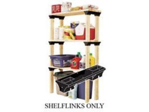 F3 Brands 90128 Shelf Links - 6-Pack