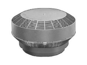 Turbn Repl 117Sq-In Polyp Gry CANPLAS INC Roof Ventilators 6001G Gray