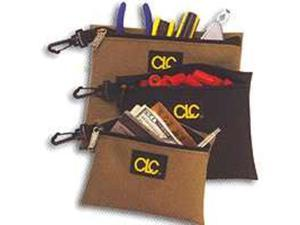 Custom Leathercraft Multipurpose Zippered Storage Bags.