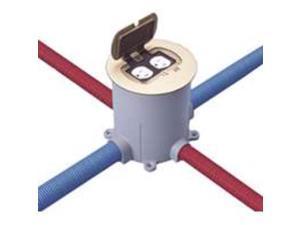 Bx Base Flr 90Cu-In Rnd PVC 00 Metal Conduit - Emt E971FB-CAR Gray PVC