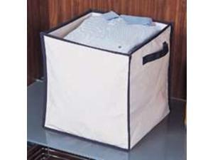 Collapsible Canvas Storage Box HOMEBASIX Storage Containers M167CNW-3L