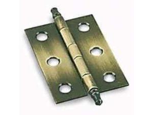 Hinge Butt Trm Furn 6Hl 2In Tgt AMEROCK CORP Decorative Hinges BP2355AE Steel