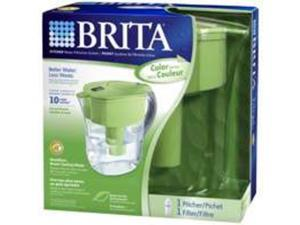 Brita 35378 Grand 80-Ounce Water Filtration Pitcher, Green