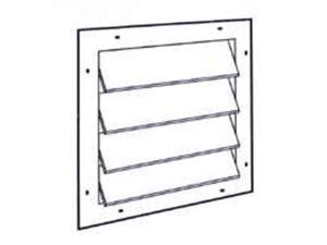 Vntlr Gable Pwr 19-1/4In LL BUILDING PRODUCTS Power Gable Vents SGM20