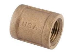 Coupling Brass 2Mpt ANDERSON METAL CORP Brass Pipe Couplings 738103-32