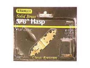 Hasp Ornmtl 1/8In 2-3/4In STANLEY HARDWARE Decorative Latches / Locks 803590