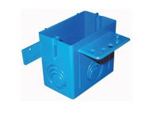 Bx Out 1Gng 22Cu-In 6In 3Ko THOMAS & BETTS/CARLON Pvc Switch Boxes A122 Blue