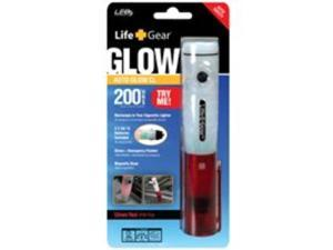 Life Gear Auto Glow Rechargeable Flashlight/Emergency Flasher