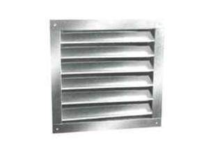 LL Building Products DA1218 12X18-Inch Aluminum Louvers Dual Recessed/Flush Moun