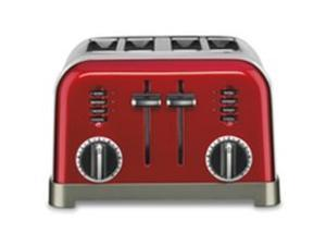 4 Slice Toaster Red CUISINART/WARING Toasters CPT180MR  Red 086279034540