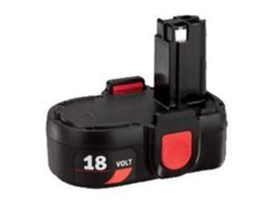 Pk Batt 18V Nicd Mdl 2866 2867 SKIL Batteries 180BAT Black 039725020024